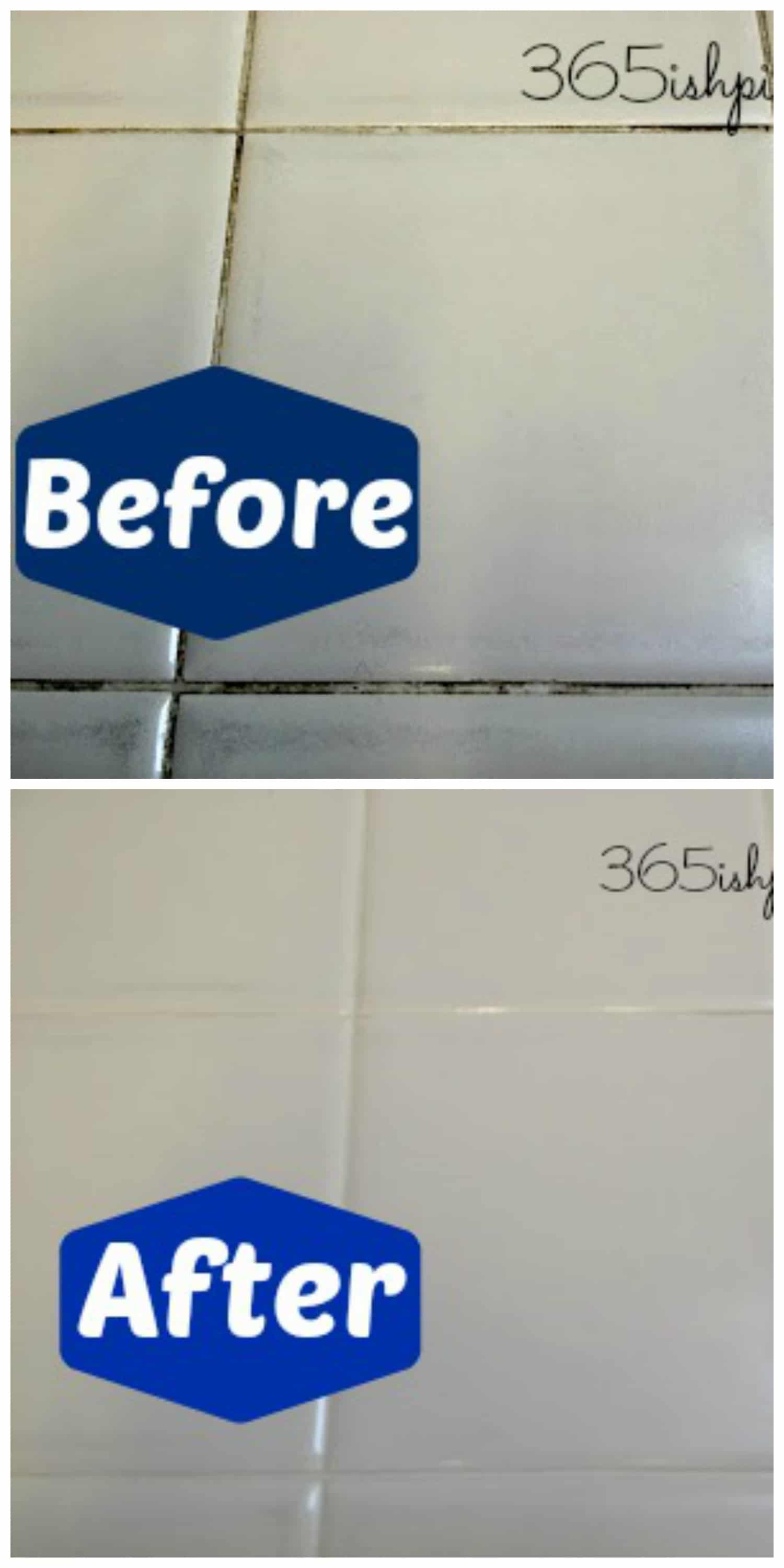 Day 56 Whiten Tile Grout With Vinegar Simple And Seasonal
