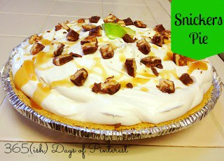 Day 166: Snickers Pie
