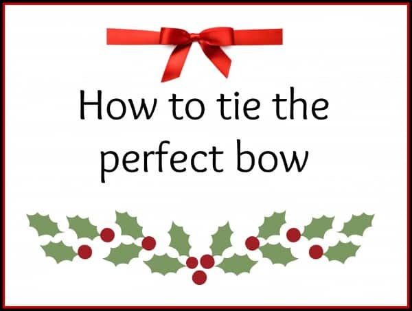Day 183 how to tie the perfect bow simple and seasonal Better homes and gardens video episodes