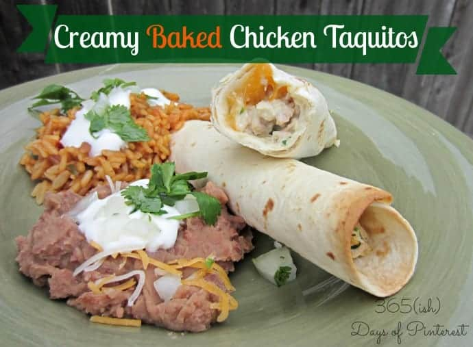 Creamy Chicken Taquitos: Day 230