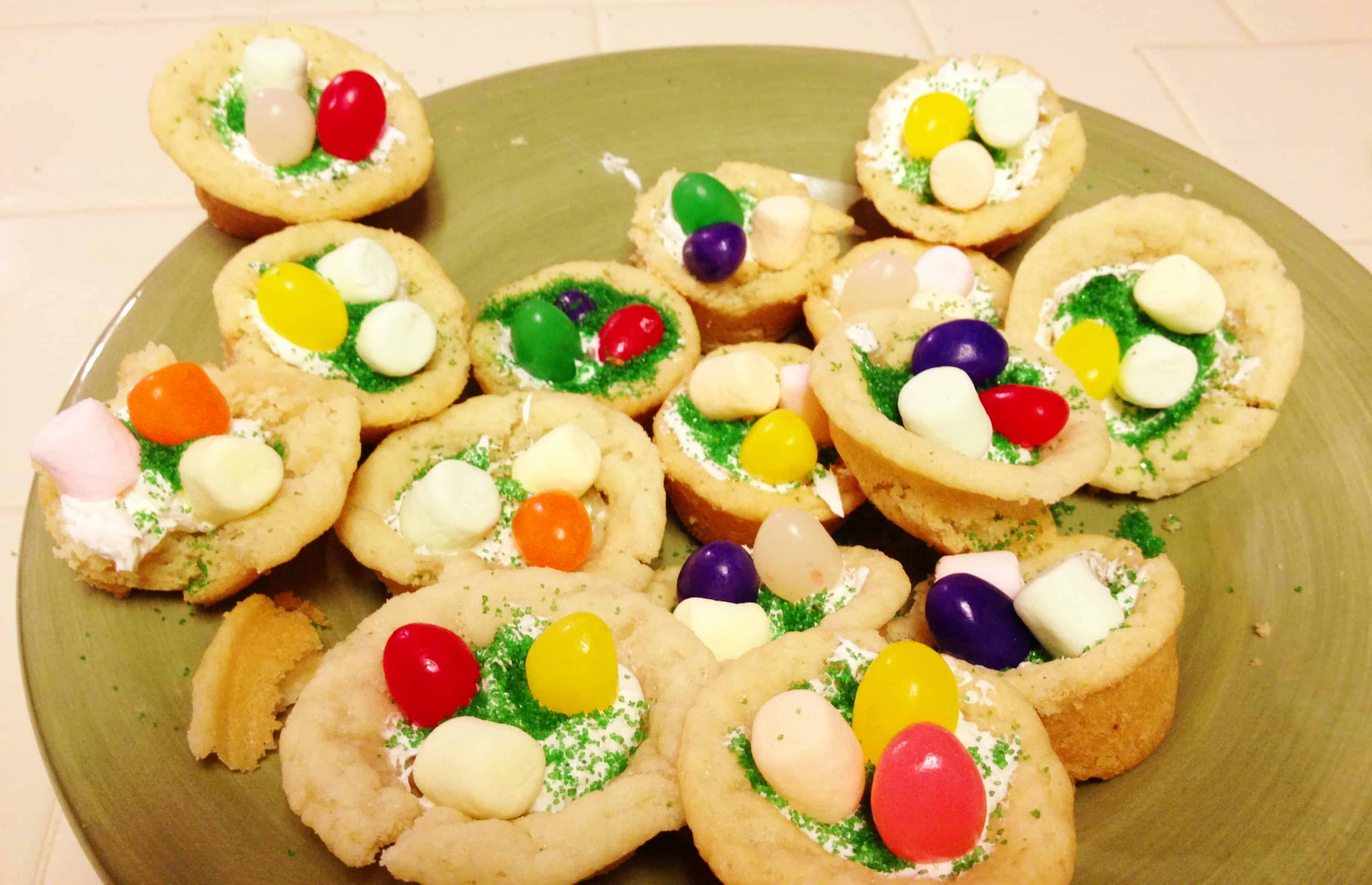 Day 294: Pillsbury Jelly Bean Cookie Cups