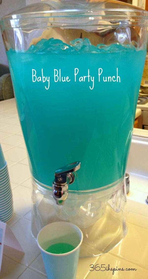 baby blue punch