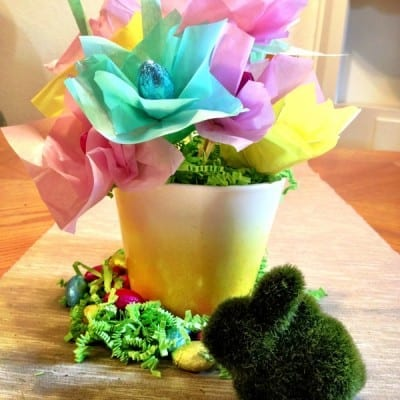 Day 275: Easter Candy Spring Centerpiece