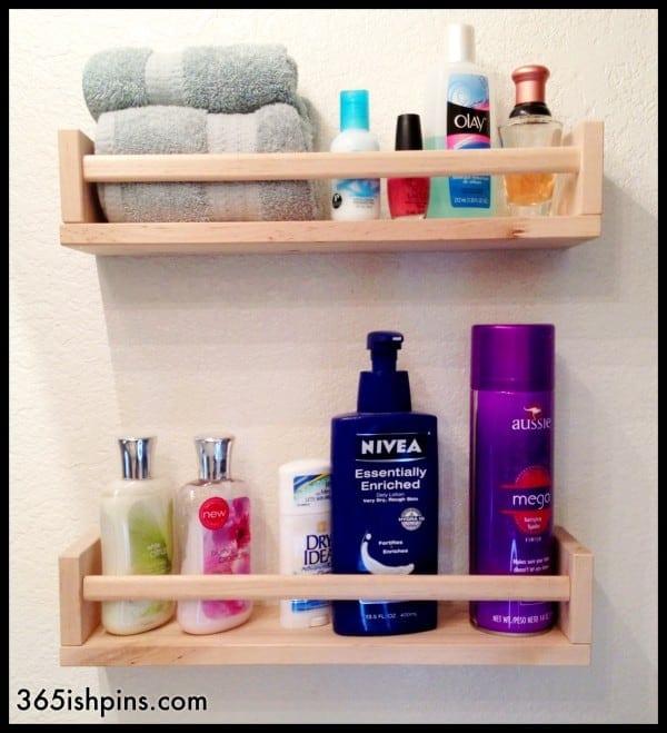 Toiletry Shelf