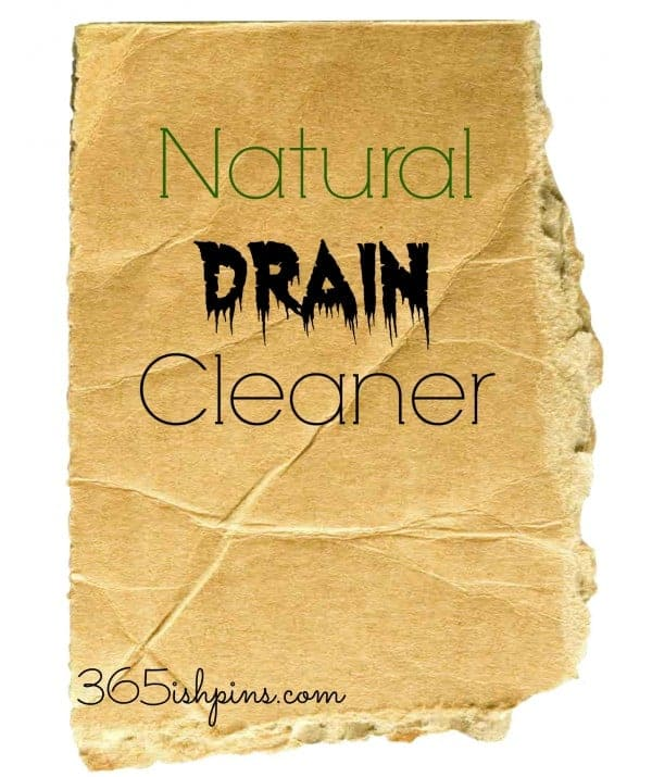 Day 362: Natural Drain Cleaner