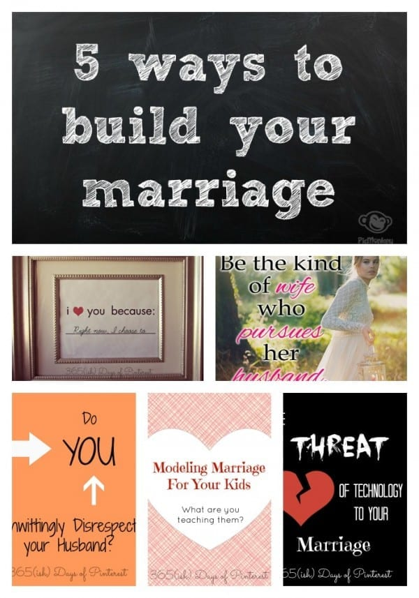 5 ways to build your marriage