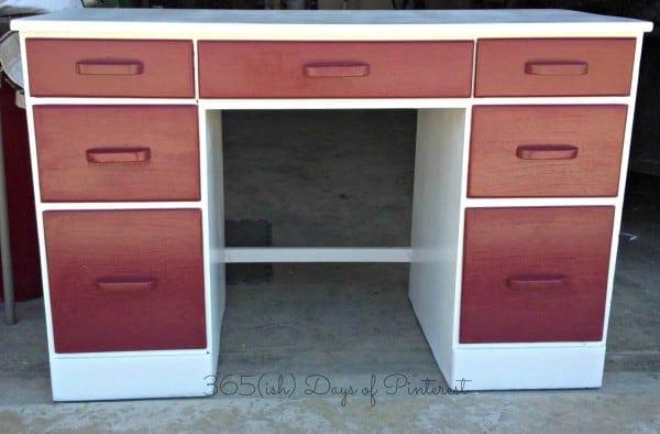 Desk Done- white