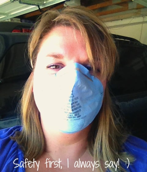 Sanding mask