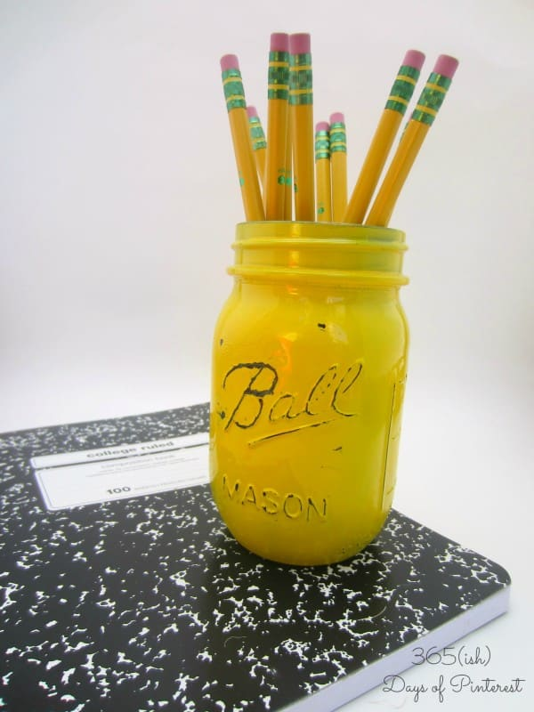 ball pencil jar
