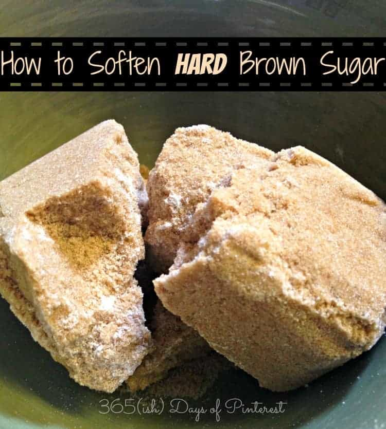 How to Soften Hard Brown Sugar: Vol. 2, Day 31