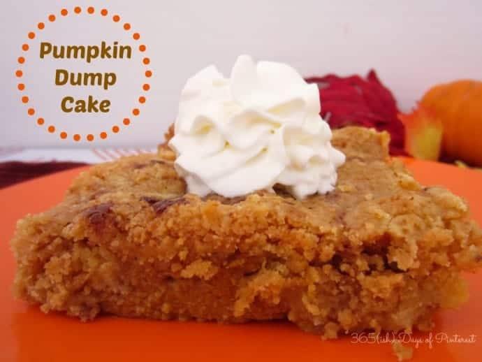 Day 88: Pumpkin Dump Cake