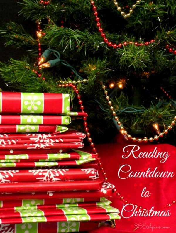 reading countdown to Christmas