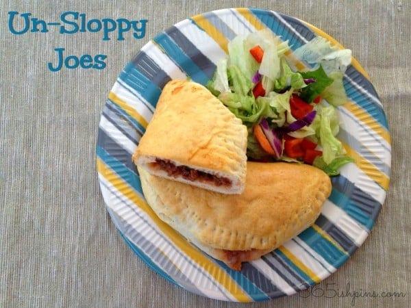 Unsloppy Joes