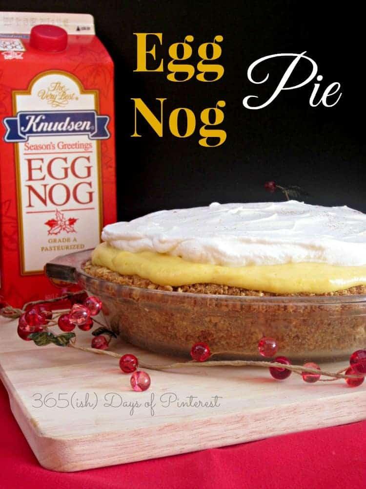 Eggnog Pie: Vol. 2, Day 40
