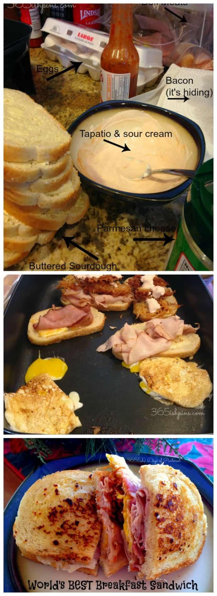 World's best breakfast sandwich