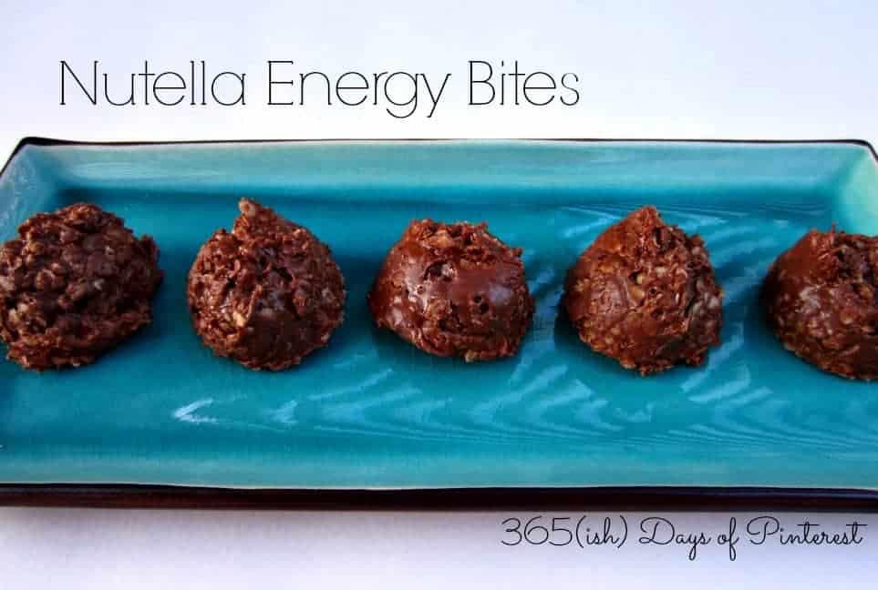 Nutella Energy Bites: Vol. 2, Day 44