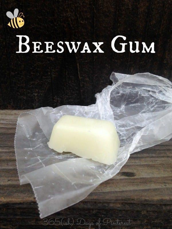 beeswax gum