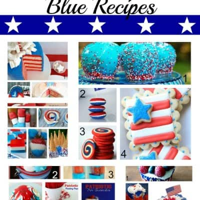 Red, White and Blue Recipes