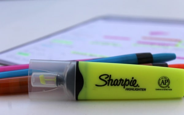 sharpie clearview