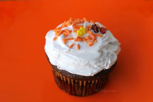cupcake frosted