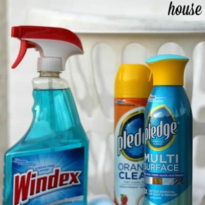 10 Minute Clean with Pledge® and Windex®