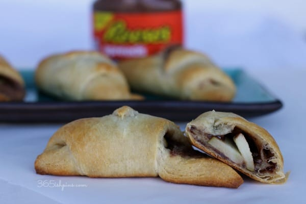 reese's spread stuffed pastries