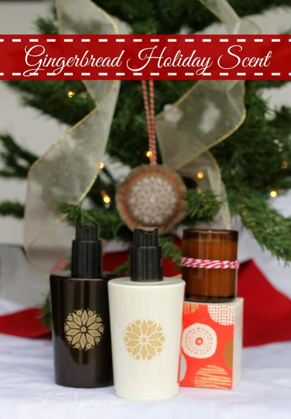 gingerbread holiday scent