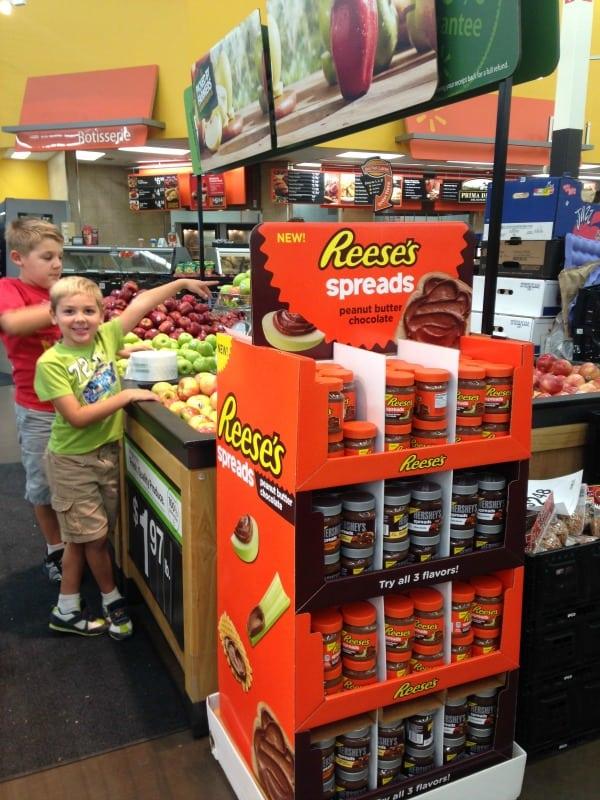 reese's spread in Walmart