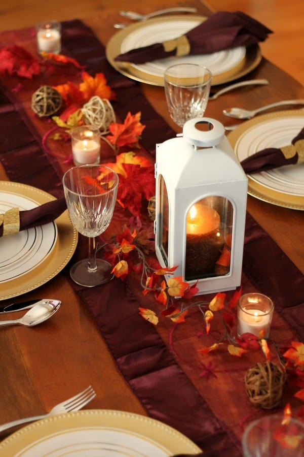 tablescape top down