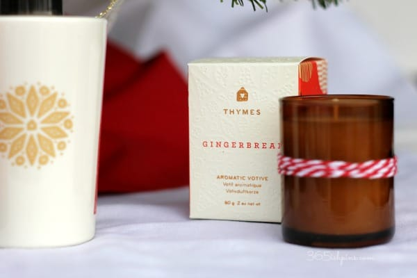 thymes gingerbread votive
