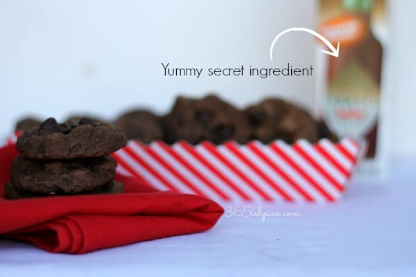 dark chocolate chipotle cookies