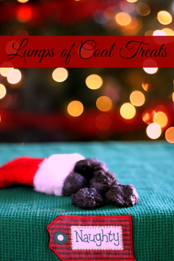 lumps of coal treats