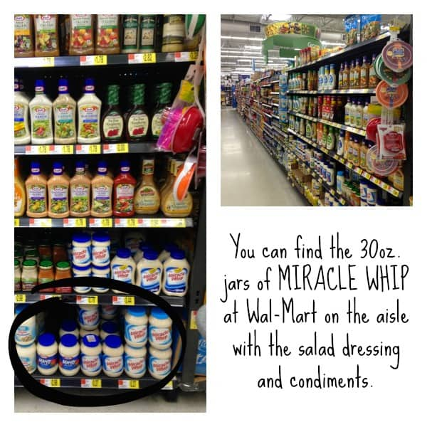 walmart aisle Miracle Whip