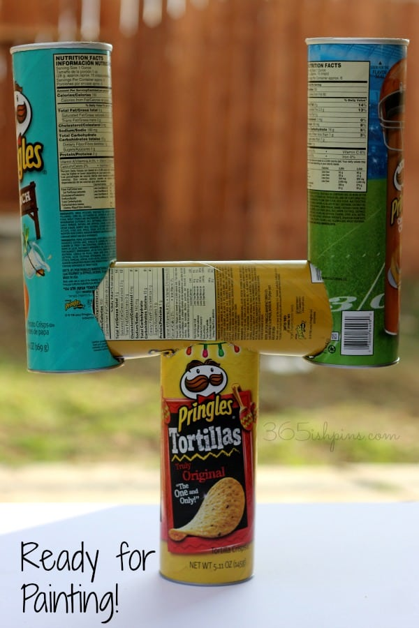 Pringles can goal post 5