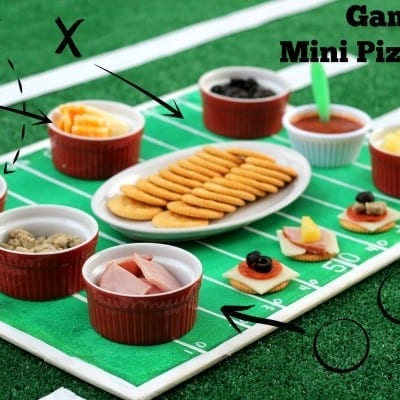 Pizza Bites and Ritz Cookies: Game Day Snacks