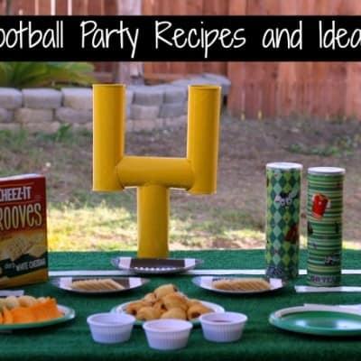 Easy Football Party Recipes and Ideas