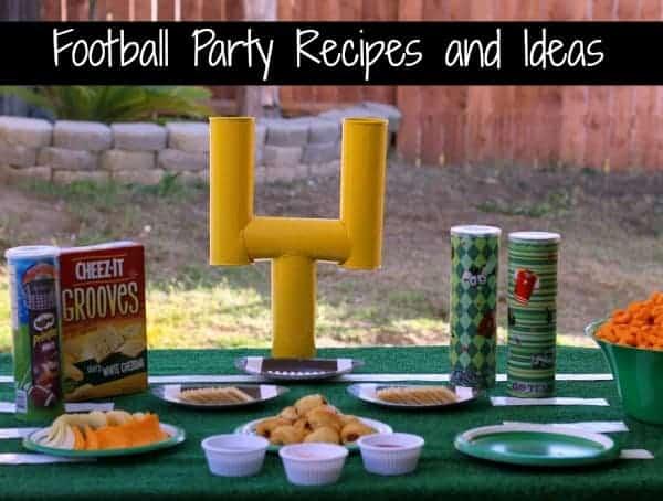 football party recipes