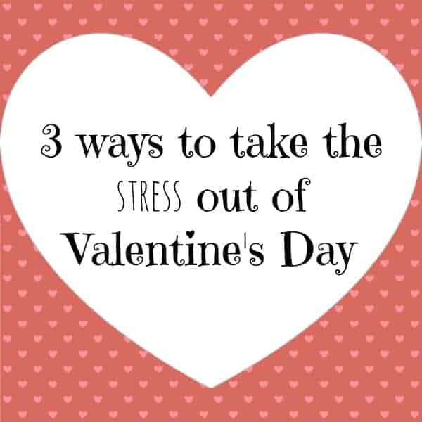 valentine's day stress