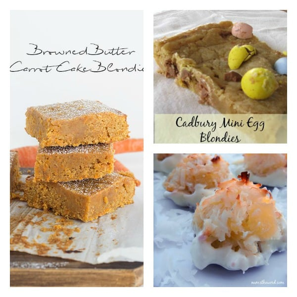 Easter desserts collage 3