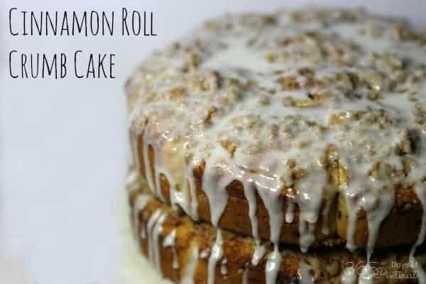 cinnamon roll crumb cake takes a plain cinnamon roll and ups the ante!