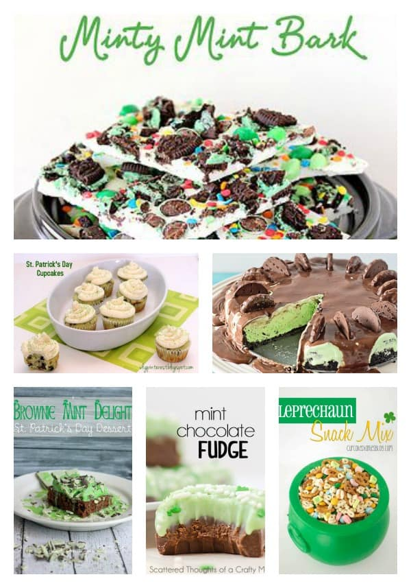 St. Patrick's Day treats, sweets and desserts
