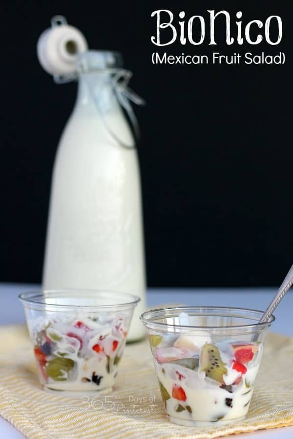 Bionico Mexican Fruit Salad cups