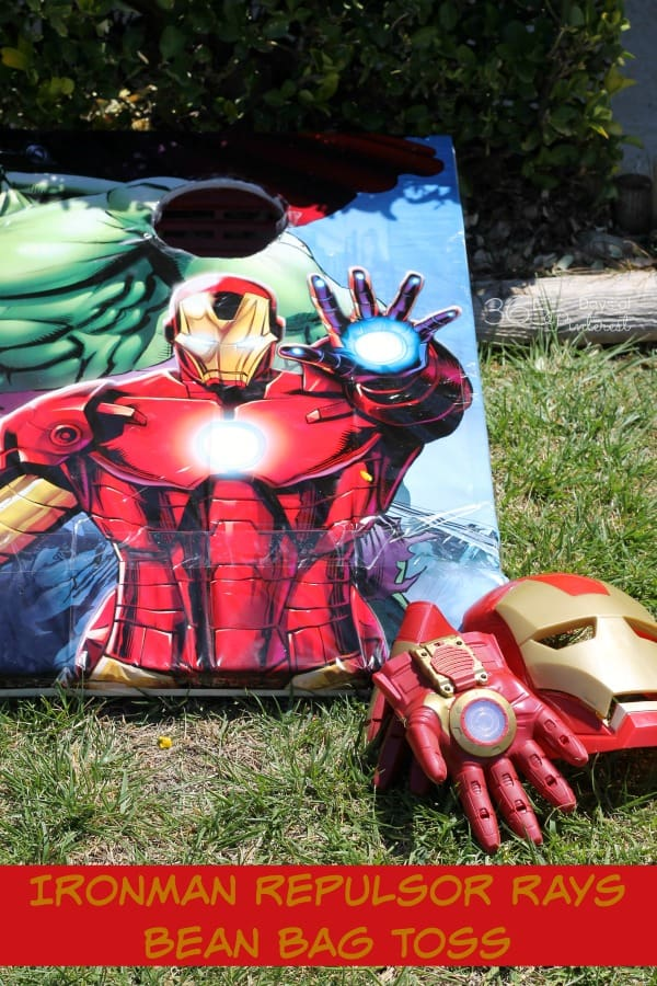 Ironman Repulsor Rays Bean Bag Toss