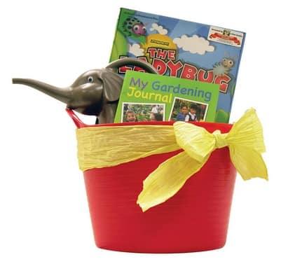 Kids gardening kit giveaway