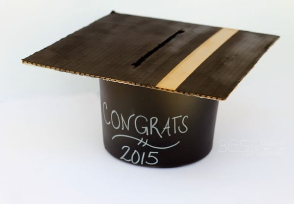mortarboard card box