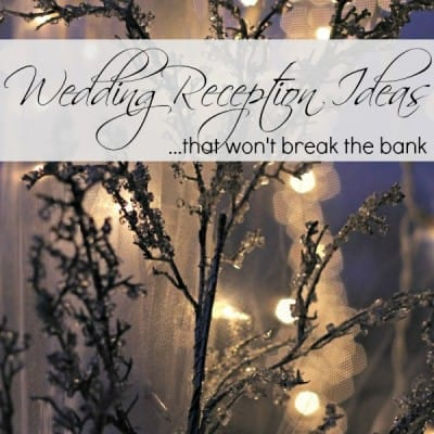 Wedding Reception Decorations: Beautiful and Budget-Friendly