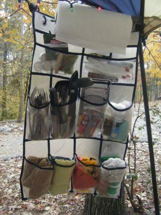 camping kitchen storage