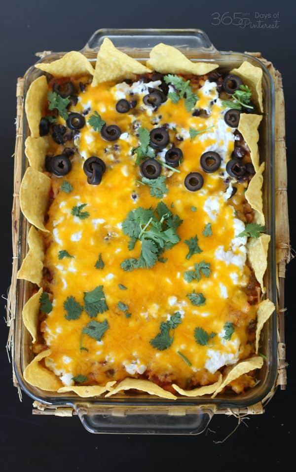 Cheesy Casserole dish