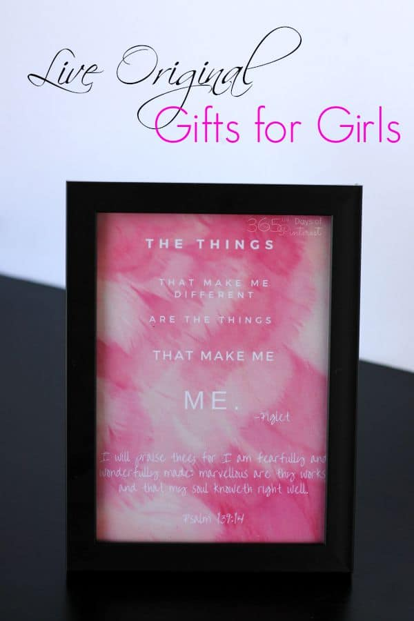 Live Original Gifts for Girls