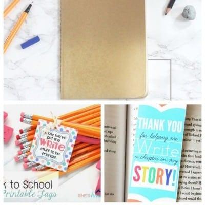 21 Back to School Ideas